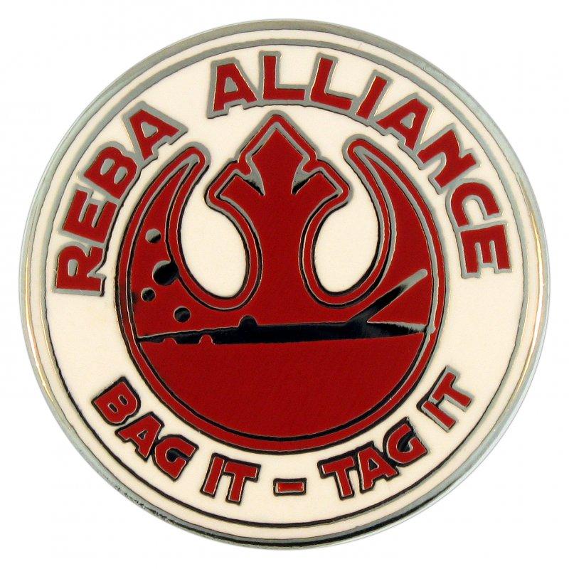 Hard Enamel Pins – Reba Alliance
