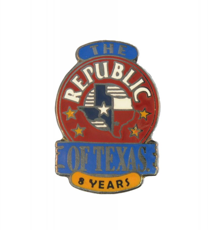 A Hard Enamel Pins for The Republic of Texas