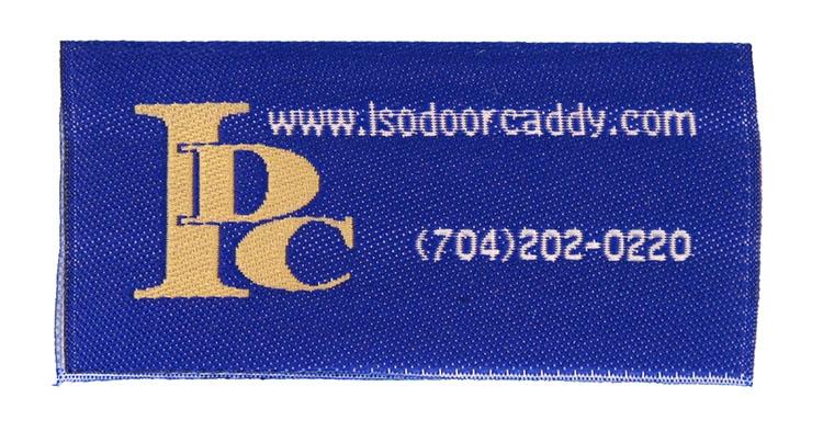 woven label isodoorcaddy desc